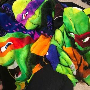 Ninja Turtle Fleece blanket